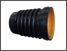 高强度聚乙烯(HDPE)缠绕结构壁B型管