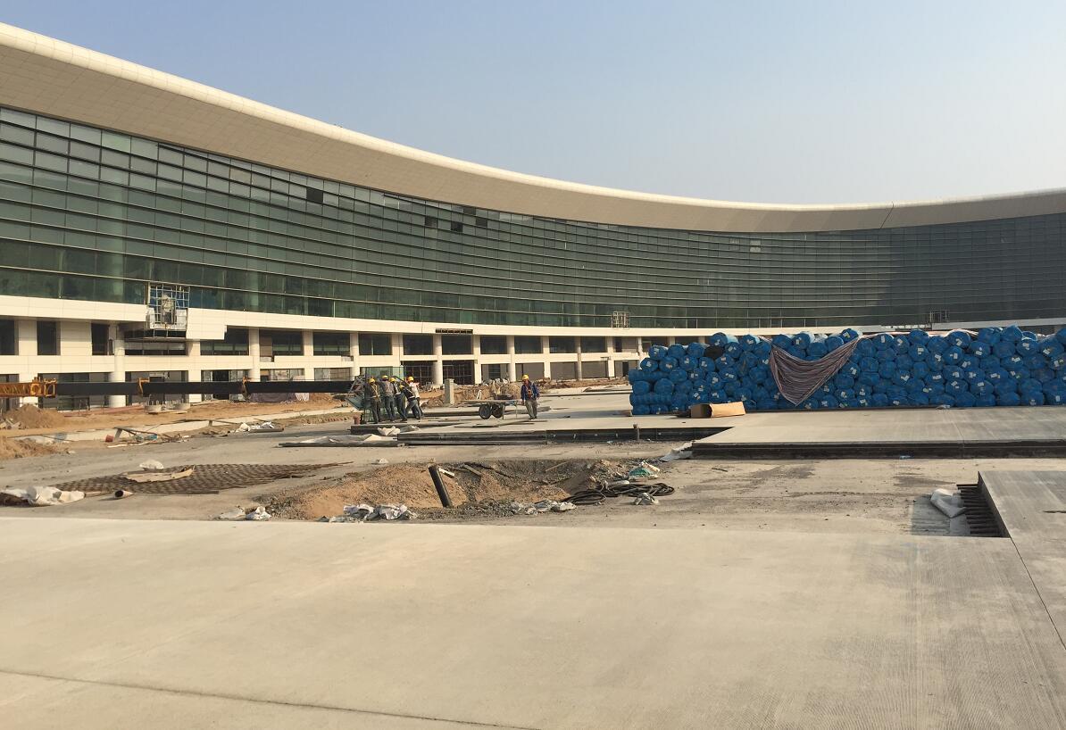 <span>新郑国际机场二期工程</span>
